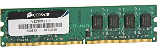 Corsair 2gb 800mhz Ddr2 240pin Dimm Memory Module lowest price
