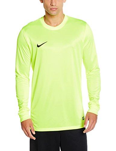 Nike LS Park VI Jsy - Camiseta para hombre con mangas largas, color ve