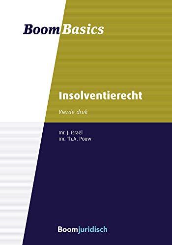 Boom Basics Insolventierecht (Dutch Edition)