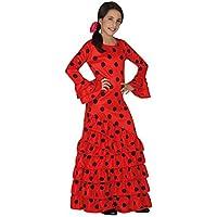 Atosa 26530 - flamenco, muchacha Tamaño 104, rojo / negro