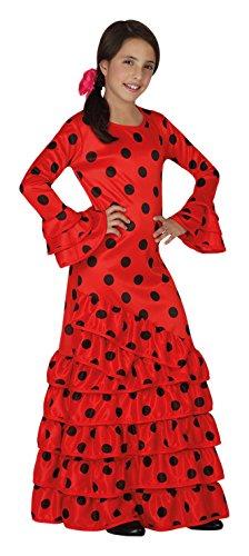 Atosa 26530 - flamenco, muchacha Tamaño 104, rojo/negro