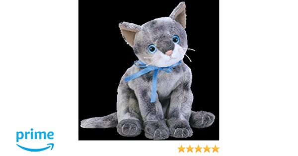 066e3368c20 TY Frisco the Grey Cat Beanie Baby  Amazon.co.uk  Toys   Games