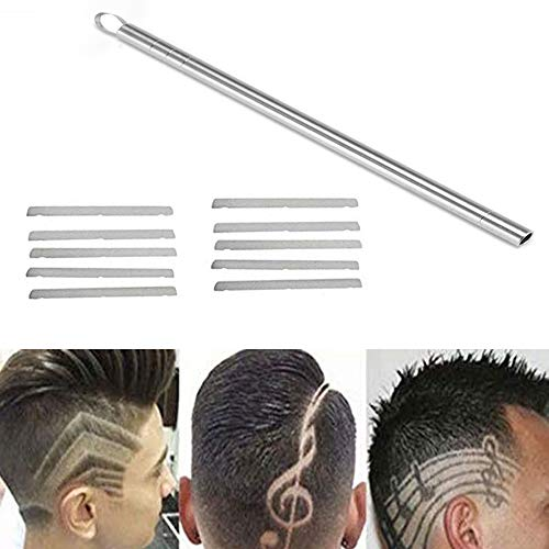 Hair Razor Pen, FORNORM Hair Styling Trim Styling Face Sopracciglio