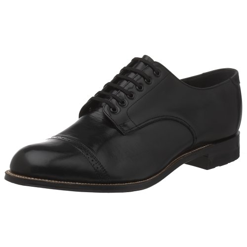 Stacy Adams Men's Madison Cap Toe Oxford,Black,15 D