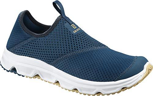 Salomon Herren RX Moc 4.0, Erholungsschuhe, blau (poseidon/white/taos taupe) Größe 42 2/3 Sport-moc