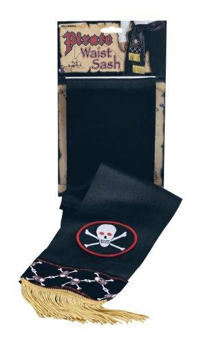Piraten Taillen-schärpe Gürtel Jack Sparrow Karibik Bucaneer Halloween Kostüm (Bucaneer Pirat)