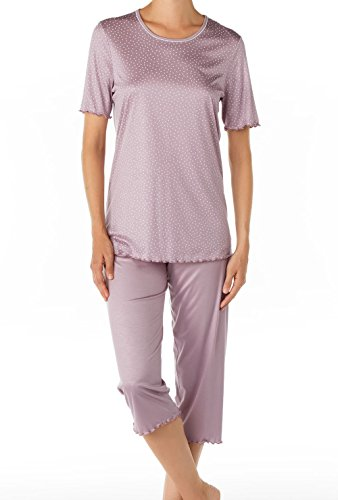CALIDA Pyjama 3/4 Amalfi - Ensemble de pyjama - Femme nirvana purple