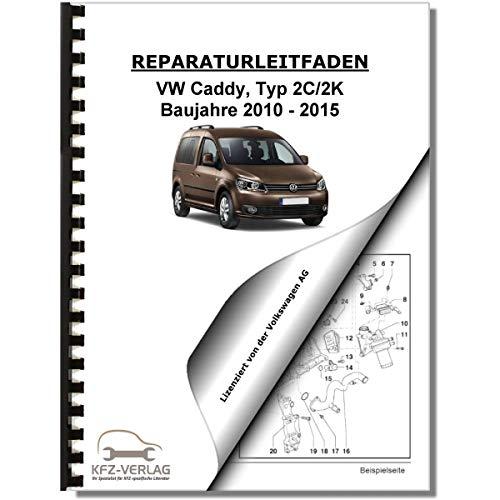 VW Caddy, Typ 2K/2C (10-15) Fahrwerk, Achsen, Lenkung - Reparaturanleitung