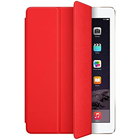 Apple MGTP2ZM/A - Funda para iPad Air 2 (con función soporte), rojo
