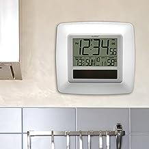 La Crosse Technology WT-8112U-WH Solar Atomic Digital Reloj