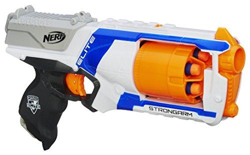 Hasbro Nerf Nerf - Strongarm Arma con 6 Dardi