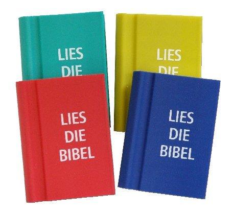 Radierer Buch 'Lies die Bibel'