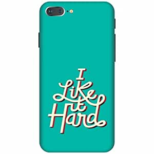 Apple iPhone 7 Plus Hard Plastic Back Cover - Multicolor Designer Cases Cover by Printland