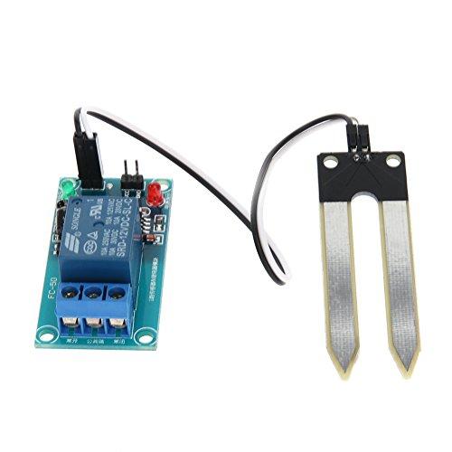 winnereco 12V Boden Feuchtigkeit Sensor Überwachung Modul und automatischen Bewässerung, Gerät -