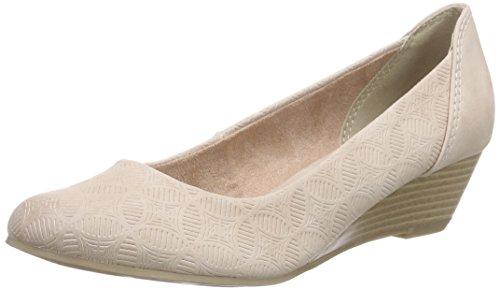 Marco Tozzi 22303, Chaussures à talons - Avant du pieds couvert femme Rose - Pink (ROSE ANTIC 517)