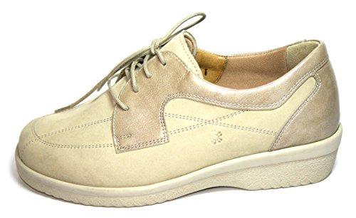 Ganter  Inge, Chaussures de ville à lacets pour femme Beige - porzelan