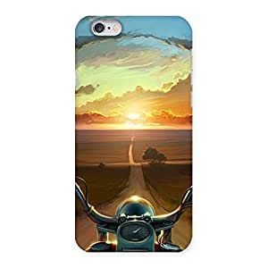 Enticing Wonder Cruise Way Multicolor Back Case Cover for iPhone 6 6S