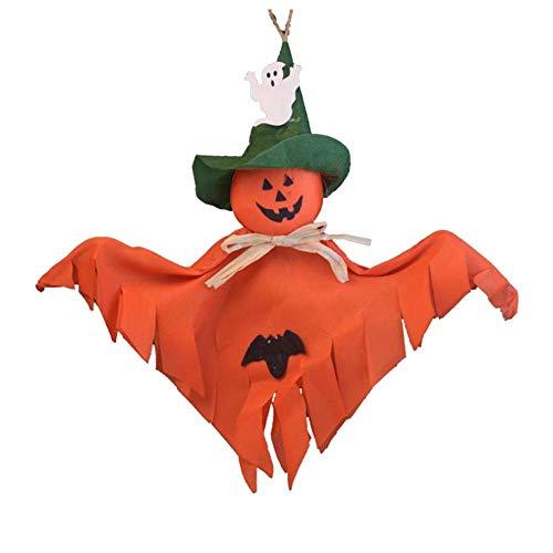 Wind Ziel Halloween Dekorationen Aufhängen Ornaments Halloween-Kürbis Ghost Ornament zufällige Lieferung 5x