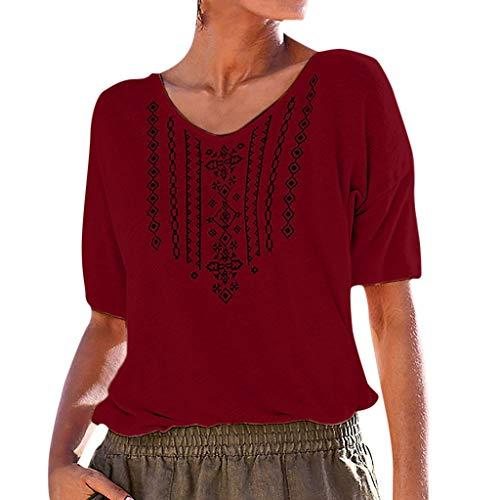 designer fashion 4e6fc 4a09d BASACA T-Shirts Tops Femme Fille Étudiant Reine Printemps Été T-Shirt  Décontracté à
