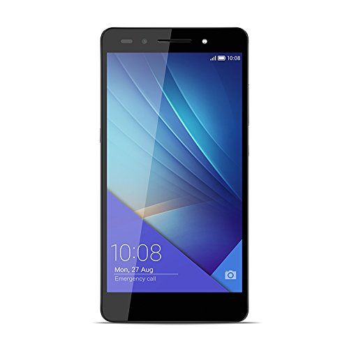 Honor 7 Smartphone 4G, Display Full HD 5.2 Pollici, Processore Kirin 935 Octa Core 2.2 GHz, 16 GB Memoria Interna, 3 GB RAM, Fotocamera 20 MP, Grigio