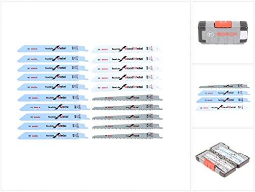 Bosch 20-tlg. Säbelsägeblätter ToughBox Top Seller for Wood and Metal 2607010902 Test