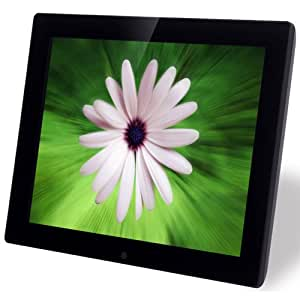 NIX 15 Inch Hi-Resolution Digital Picture Frame, 4GB Internal Memory, Photo, Video, Music, Split Screen Option - Plug & Play X15B