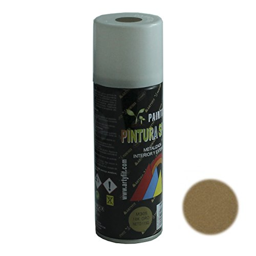 Paintusa - Bote de pintura metalizada en spray oro M305 200 ml