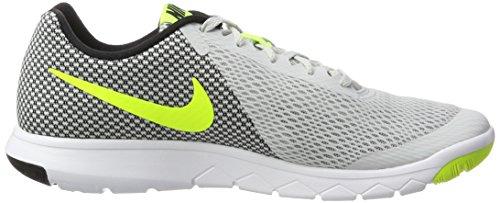 Nike Flex Experience RN 6, Scarpe da Corsa Uomo Bianco (Pure Platinum/Volt/Black/White)