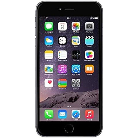 Apple iPhone 6 Plus Gris Espacial 16GB Smartphone Libre (Reacondicionado Certificado)