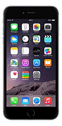 Apple iPhone 6 Plus Gris Sidéral 128GB Smartphone Débloqué (Reconditionné Certifié)