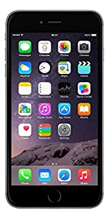 "Apple iPhone 6 Plus, 5,5"" Display, Sim-Free, 128 GB, 2014, Space Grau (Generalüberholt) (B01M0QXZVQ) 