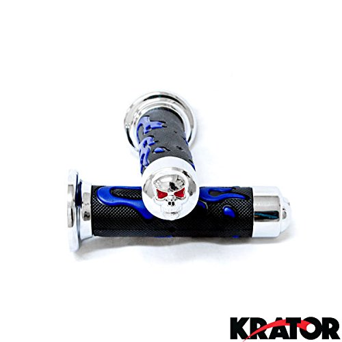 kratorr-sport-bike-and-dirt-bikes-motorcycle-flame-gel-style-hand-grips-with-skull-blue-color-aprill