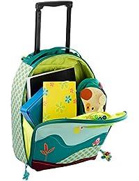 Lilliputiens Trolley Jef Bagage Enfant, 45 cm, 15 L, Multicolore