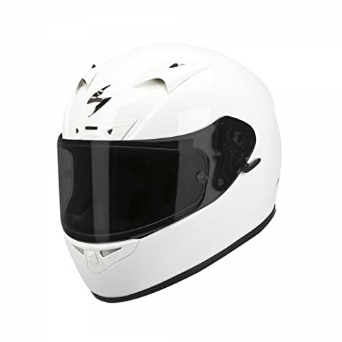 Scorpion Casque de Moto EXO-710 AIR Solid, Blanc, Taille S