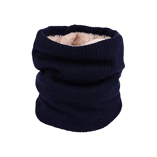 LAAT 1PCS Cuello de Bufanda Bufanda Multiusos Invierno De Las Bufandas De Cuello Collar Bufanda Cuello de Cuello de… 1