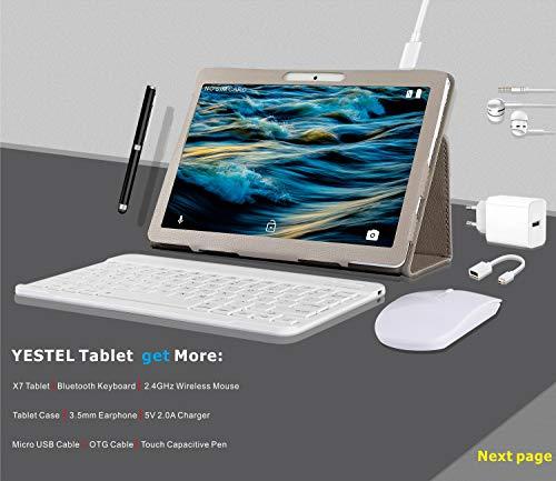 YESTEL Tablette Tactile 10 Pouce...