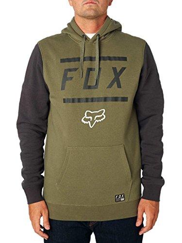 Fox Hoody Listless Midnight Grün