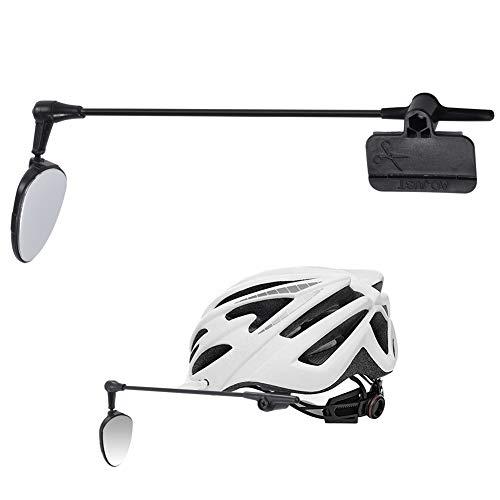 PChero 360 Grad Einstellbar Rückspiegel für Fahrradhelm mit Klettband