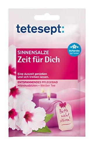Tetesept - Bain soin - Temps pour soi - Pack de 10 (10x 60 g)