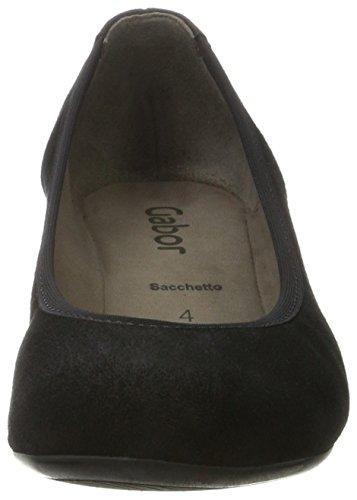 Gabor Shoes Gabor Basic, Scarpe con Tacco Donna Nero (17 Schwarz)