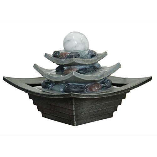 zen-indoor-three-tier-rotating-ball-water-feature-fountain-grey-green