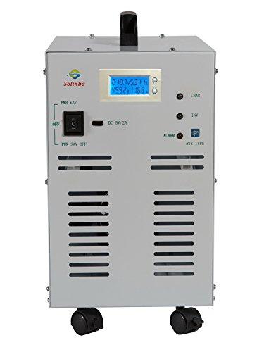 Solinba 3000W Pure Sine Wave off Grid Power Inverter Peak 9000 W Generator Konverter DC48v zu AC230v Off-grid-generator