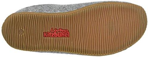 Muli Livingroom Alpenmoos Pantoffel Kitzbühel Unisex Pantofole Grigio Filz qwqTv