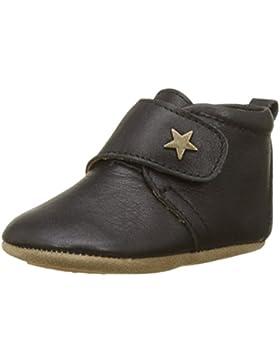 Bisgaard Unisex-Kinder Velcro Star Pantoffeln