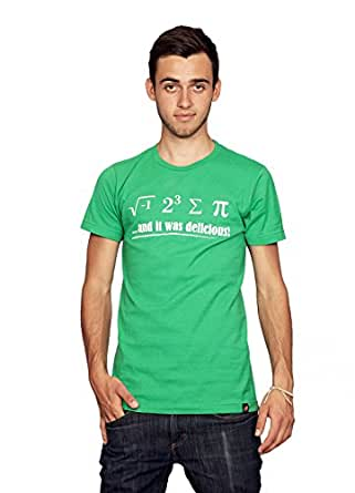 Rocket Factory I Ate Some Pie Math Equation t-shirt-Green-Small