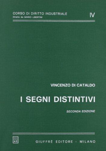 I segni distintivi (Corso di diritto industriale) por Vincenzo Di Cataldo