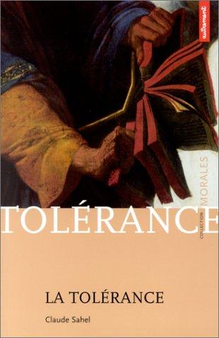 La Tolérance par Claude Sahel