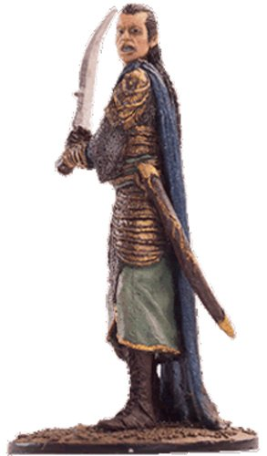 Lord of the Rings Señor de los Anillos Figurine Collection Nº 56 Elrond 1