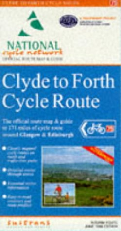 Clyde to Forth Cycle Route: Official Route Map (National cycle network) por Sustrans