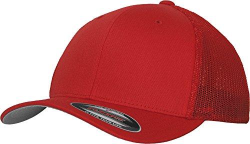 Damen Herren Unisex Grab Trucker Cap rot Snapback Hut Accessoires